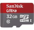 Mediamarkt und Saturn: SANDISK Ultra 32 GB Speicherkarte für nur 9,99 Euro statt 12,99 Euro bei Idealo