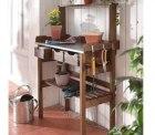 Pflanztisch für Gartenarbeiten mit drei Schubladen für 44,91€ mit Gutschein [idealo 60€] @ebay