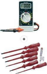 Sparset: Hand-Multimeter + VDE Schraubendreher-Satz 7-teilig für 11 € (20,88 € Idealo) @Voelkner bzw. eBay