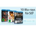 10 Blu-rays für 50 € @Amazon