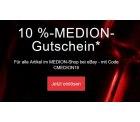 10% Rabatt auf das gesamte eBay Sortiment von Medion mit Gutscheincode ohne MBW @eBay