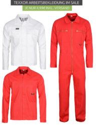 2 verschiedene Texxor Arbeitsjacken für je 2,99€ inkl. Versand  [idealo 19,64€]@Outlet46