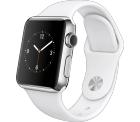 Apple Watch 38 mm Weiß/Edelstahl für 199 € (364,39 € Idealo) @Telekom-Sop