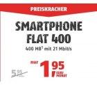 Klarmobile: Telekom Flat mit 100 Frei-Min. + 400 MB Datenflat für 1,95 Euro mtl.
