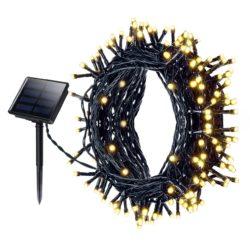 Mpow 22 Meter 200 LED Solar Lichterkette  mit 8 Modi + wasserdicht für 15,99€ statt 19,99€ dank Gutschein @Amazon