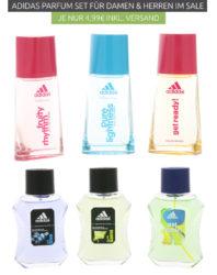 Outlet46 2 Adidas Eau De Toilette Parfüm Geschenksets Eins Für