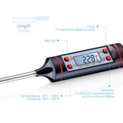 Topop digitales Grillthermometer mit Gutscheincode für 5,99 € statt 7,99 € @Amazon