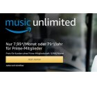 4 Monate Amazon Music Unlimited für 0,99 € statt 31,96 € @Amazon
