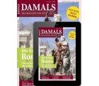 DAMALS Jahresabo mit 12 Ausgaben als Print + Digital für effektiv nur 4,36€ @abofreunde