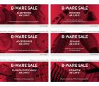 Großer B-Ware Sale (Technik, Fashion, Wohnen usw.) @brands4friends z.B. Paulmann PowerLED Strahler 3x10W für 24,89 € (79,00 € Idealo)