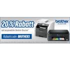 Notebooksbilliger: 20% Rabatt auf ausgewählte Brother Drucker – z.B. Brother MFC-J480DW Tinten-Multifunktionsdrucker für 89,51 Euro [ Idealo 105,42...
