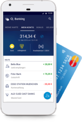 o2 Banking: Kostenloses Konto + bis zu 1GB Datenvolumen