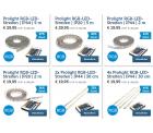 Prolight LED-Streifen im Flash-Sale @iBOOD z.B. Prolight RGB-LED-Streifen IP20 5 m für 35,90 € (54,48 € Idealo)