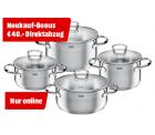 SILIT 21.0927.3608 Toskana Topf-Set 4-tlg. mit Sofortrabatt für 59 € (74,90 € Idealo) @Media-Markt