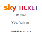 Sky Entertainment Ticket für 3 Monate für 3 € statt 29,97 € @PayPal