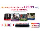 Sky Komplett (alle Pakete) + HD + Sky Go + keine Aktivierungsgebühr für 29,99 € mtl. statt 76,99 € @Sky