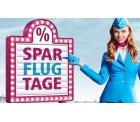 Spar-Flug-Tage Europaweite Tickets ab 19,99 € @Eurowings