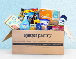 Amazon: 10 Euro Sofort-Rabatt mit Gutschein (ab 50 Euro MBW) auf Amazon Pantry