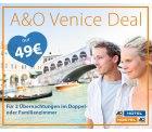 A&O: Venedig 2 Übernachtungen für 2 für nur 49 Euro – 3 Jahre gültig
