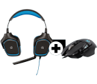 LOGITECH G430 Gaming-Headset + LOGITECH G502 Gaming-Maus für 66 € (109,32 € Idealo) @Media-Markt