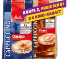 [Lokal] 2x Melitta Capuccino o. Choco 400g-Beutel für je 1,99€ kaufen und ein 8€ Kino-Rabatt erhallten @Penny – ab Montag!