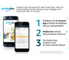 Mit der Amazon App einloggen und 6 € Gutschein bekommen @Amazon