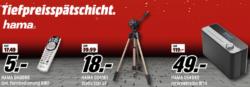 Tiefpreisspätschicht @Media-Markt z.B. HAMA IR50 Internetradio für 49 € (64,99 € Idealo)