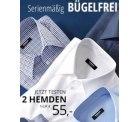 2 Hemden zum Preis von 1 für 60,95€ inkl. Versand statt 123,95€ @Walbusch
