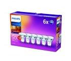 6er Pack Philips LEDclassic WarmGlow Reflektor-Lampe GU10 warmweiß dimmbar für 16,82 € (38,40 € Idealo) @Amazon