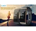 CUBOT S1 iOS und Android Unisex Fitness Armband mit Pulsmesser mit Gutscheincode für 29,99 € (48,99 € Idealo) @Amazon