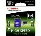 eBay – Toshiba High Speed Professional micro-SDXC-Karte 64 GB für 11,98€ (30,98€ PVG)