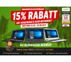 Im SSV 15% Rabatt mit Gutscheincode auf Acer Notebooks @Notebooksbilliger z.B. Acer TravelMate B117-M-C5RM für 235,45 € (294,98 € Idealo)