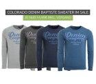Outlet46: COLORADO DENIM Baptiste Sweatshirts für nur je 14,99 Euro statt 34,99 Euro bei Idealo