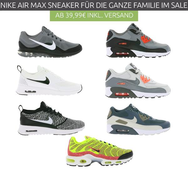 Ganze Sneaker Nike Outlet46 Die 39 Air Euro Familie Max Ab Für 99 wR4xnTOY