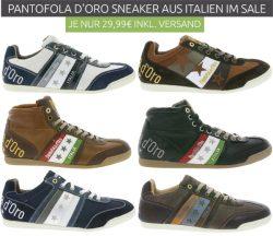 Outlet46: Pantofola dOro Echtleder-Sneaker für nur je 29,99 Euro statt 74,79 Euro bei Idealo