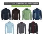 Outlet46: Tazzio Fashion Hemden Sale mit Artikeln ab 4,99 Euro z.B. Purple Herren Langarm-Hemd 10K-9000-7 für nur 4,99 Euro statt 22,99 Euro bei Idealo