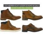 Outlet46: TXT Men Fashion Shoes Herren Echtleder-Schuhe für nur je 19,99 Euro statt 44,99 Euro bei Ideao