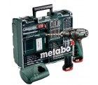@plus: Metabo PowerMaxx SB Set 10,8 V Akku-Bohrschrauber inkl. 2 Akkus, 66-tlg. 152,99 (idealo:194€)