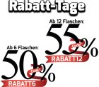Rabatt-Tage @Weinvorteil z.B. 55% Rabatt auf alle Weine mit Gutscheincode (außer Angebote)