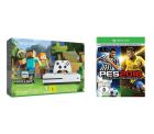 Xbox One S 500GB Konsole + Minecraft + PES 2016 für 199 € (235,80 € Idealo) @Saturn