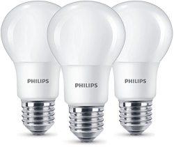 [Prime-Deal] 3 Stück Philips LED Lampe E27 EEK A+ warmweiß (2700K) ersetzt 60W für 6,89 € (11,79 € Idealo) @Amazon