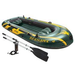 Amazon – Intex Boot Seahawk 4 Schlauchboot für bis zu 4 Personen für 59,56€ (83,90€ PVG)