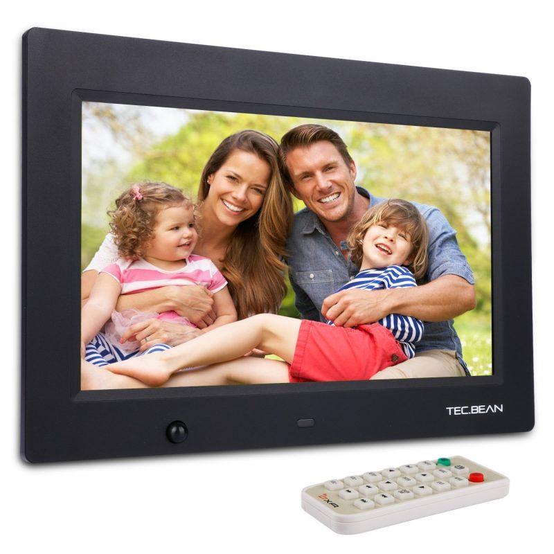 Amazon: TEC.BEAN 10.1-Zoll 8G HD Digitaler Bilderrahmen mit MP3- und ...
