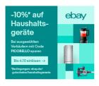 eBay: 10% Gutschein auf ausgewählte Haushaltsgeräte bei Zahlung per PayPal
