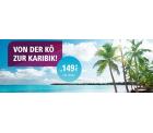 Flüge von Düsseldorf nach Mexiko und in die DomRep ab 149€ @Eurowings