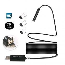 Amazon – Ccbetter 2 in 1 USB Endoskop 2 MP 720p HD EndoskopKamera mit 7 Meter Kabel durch Gutscheincode für 14,99€ statt 29,99€