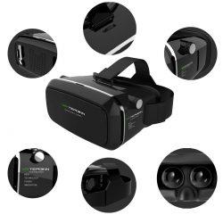 Amazon – Tepoinn Google Cardboard 3D VR Virtual Reality Headset 3D VR Brille (Aktualisierte Version) durch Gutscheincode für 10,99€ statt 16,99€