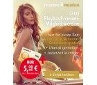 PremiumPlayboy: 3 Monate Playboy Premium für 15 Euro + 10 Euro Amazon Gutschein