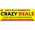 Crazy Deals – 8 Tage lang auf Schnäppchenjagd + jeden Mittwoch versandkostenfrei bestellen von 12 – 14 Uhr @Lidl.de