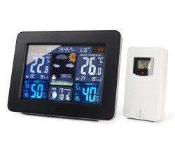 ADE WS 1503 Funk-Wetterstation mit LED-Farbdisplay und Außensensor für 26,95 € (64,98 € Idealo) @Tchibo
